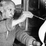 Picasso at work