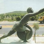 Pheidippides on the Marathon Road